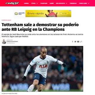 ArchiveBay.com - redgol.cl/championsleague/Tottenham-sale-a-demostrar-su-poderio-ante-RB-Leipzig-en-la-Champions-20200219-0004.html - Tottenham sale a demostrar su poderío ante RB Leipzig en la Champions - RedGol