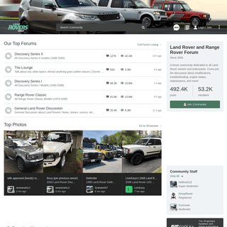 Land Rover and Range Rover Forum