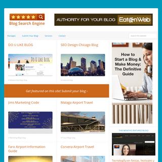 Blog Search Engine -