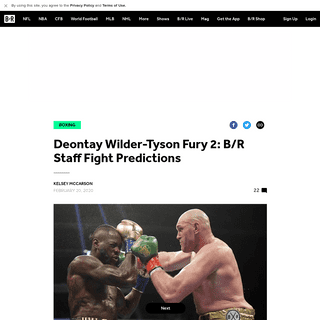 ArchiveBay.com - bleacherreport.com/articles/2877156-deontay-wilder-tyson-fury-2-br-staff-fight-predictions - Deontay Wilder-Tyson Fury 2- B-R Staff Fight Predictions - Bleacher Report - Latest News, Videos and Highlights