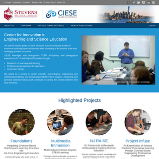 Center for Innovation in Engineering and Science Education - CIESE