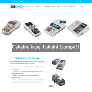 Fiskalne kase - Novi Sad - RaLink - Servis racunara Novi Sad