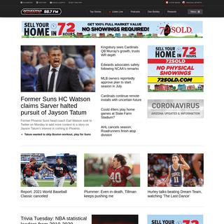 Home - Arizona Sports
