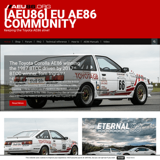 ArchiveBay.com - aeu86.org - [AEU86] EU AE86 community - Keeping the Toyota AE86 alive!