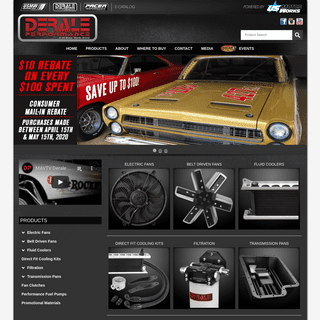 Derale Performance - The leader in performance cooling!