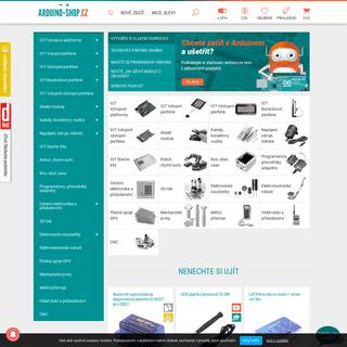 Arduino-shop.cz- VELKOOBCHOD, MALOOBCHOD S ARDUINEM