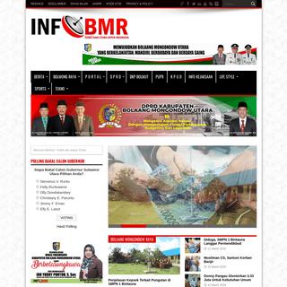 INFO BMR - Media Online Bolmut - Mau Tahu-