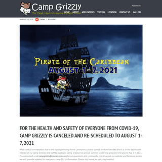 ArchiveBay.com - campgrizzly.org - Camp Grizzly