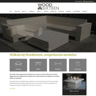 Steigerhouten meubelen - Woodsixteen - maatwerk steigerhouten meubelen voor huis en tuin