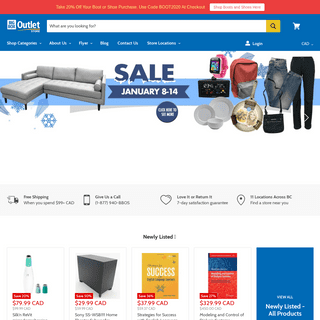 Big Box Outlet Store - Discount Online & Liquidation Store
