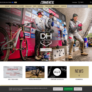 Commencal - Bike, Frames, Parts, Textile, Outlet, Second Hand....