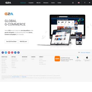 G2A.COM - Official Corporate Website