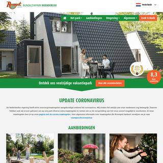 Bungalowpark Hoenderloo - Geniet op de Veluwe