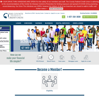 ArchiveBay.com - countyfcu.org - Welcome to The County Federal Credit Union - County FCU