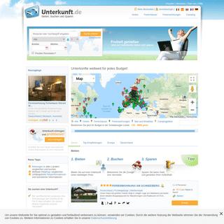 ArchiveBay.com - unterkunft.de - Hotels, Pensionen, Ferienwohnungen und Ferienhäuser weltweit bei Unterkunft.de