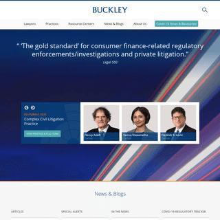 ArchiveBay.com - buckleysandler.com - Buckley LLP