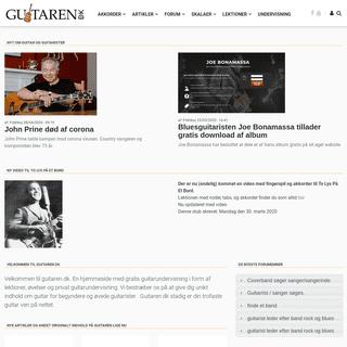 Guitaren.DK - Din trofaste guitarven på nettet