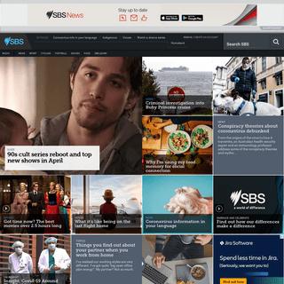SBS TV - SBS Radio - SBS On Demand, news, sport, food, movies