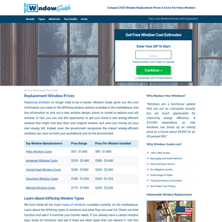 Compare 2020 Window Replacement Prices & Costs For Home Windows