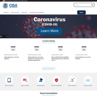 Homepage - CISA