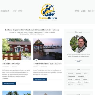 Marios Reisen - Blog mit Reiseberichten, Fotos und Tipps