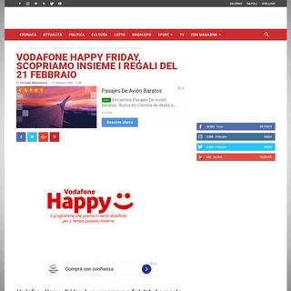 ArchiveBay.com - zon.it/vodafone-happy-friday-scopriamo-insieme-i-regali-del-21-febbraio/ - Vodafone Happy Friday, scopriamo insieme i regali del 21 febbraio ⋆ ZON