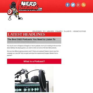 nerdbastards.com - Entertainment for the Socially Awkward