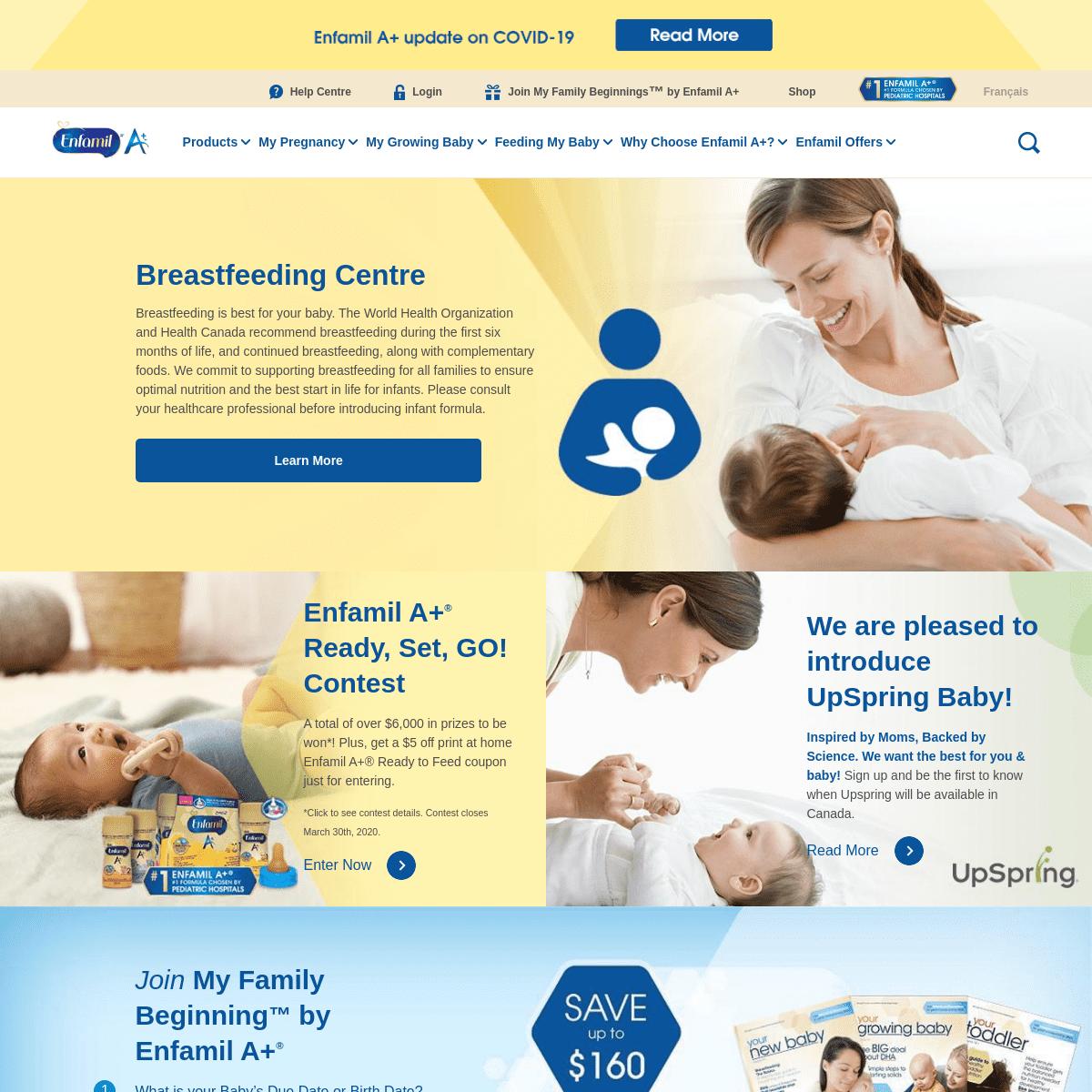 ArchiveBay.com - enfamil.ca - Newborn, Baby Formula, Infant Formula - Enfamil Canada