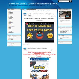 Free Ps vita Games - Download Ps vita Games - Full ISO