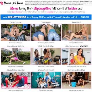Moms Lick Teens - MomsLickTeens Lesbian Porn Tube