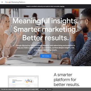 Enterprise Advertising & Analytics Solutions - Google Marketing Platform