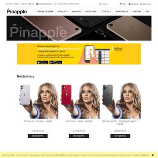 Pinapple - sklep internetowy – produkty Apple