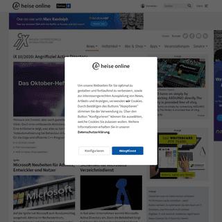 Magazin für professionelle Informationstechnik - iX Magazin