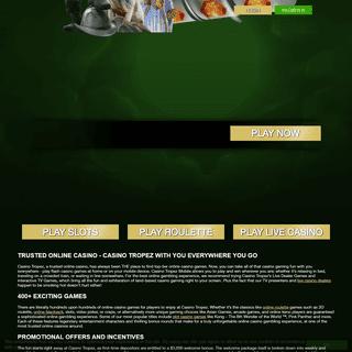 casinotropez.com online casino