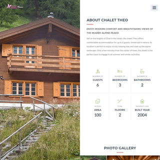 Chalet Theo for rent in beautiful Zinal Valais - Home
