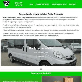 Raseta prevoz Srbija Nemacka - Kompletne selidbe, dovoz vozila