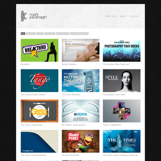 Mark Kavanagh - Creative Graphic and Web Design