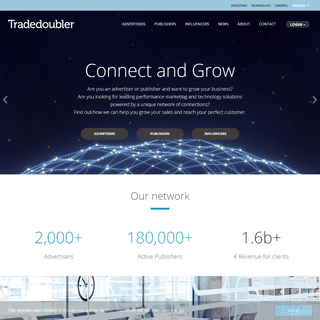 Tradedoubler – Connect and Grow