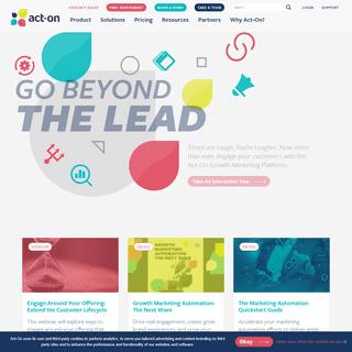 Act-On - Automated Growth Marketing Platform