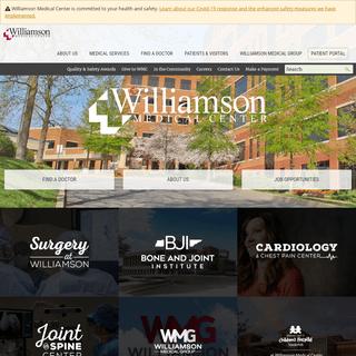 Williamson Medical Center - Trusted for Expertise, Chosen for Care