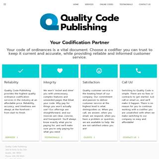 Quality Code Publishing