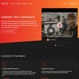 Unraid - Unleash Your Hardware