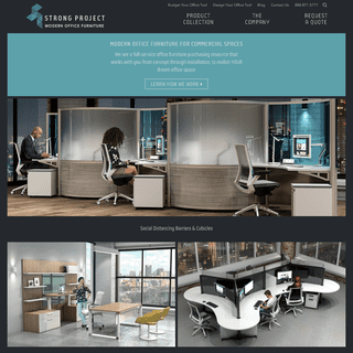 Modern Office Furniture - StrongProject