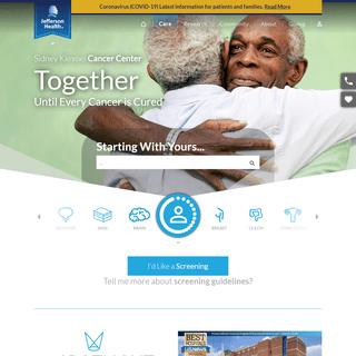 Care - Sidney Kimmel Cancer Center