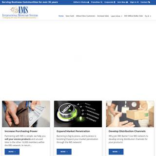 IMS B2B Barter – New Sales! - IMS Barter Trade Exchange Network