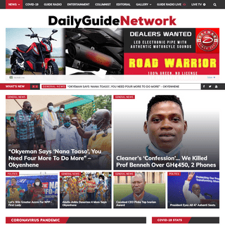 Home - DailyGuide Network