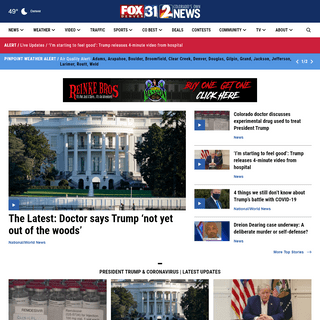 FOX31 & Channel 2 - Denver, CO News, Weather, Traffic, Sports - KDVR & KWGN