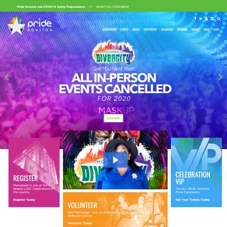 LGBT community in Houston – Pride Houston, Inc.