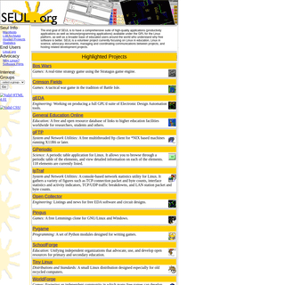 Seul.org Home Page