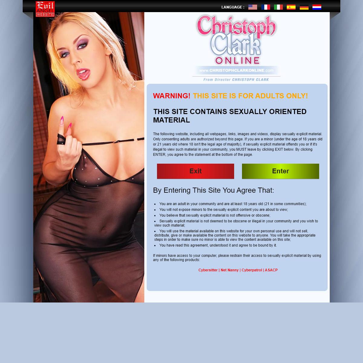 A complete backup of www.christophclarkonline.com
